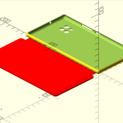 Capture d'écran 2020-11-26 à 11.45.41.png Download free SCAD file configurable GSM hull • 3D printing object, Patrick62