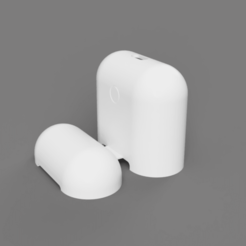 Download free STL file Airpods Cover • 3D print design, KentFbr