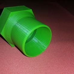 20160515_213527.jpg Télécharger fichier STL gratuit Raccord aspirateur piscine femelle 49 mm vers 40mm • Plan pour impression 3D, KentFbr