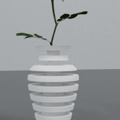 render1_vase-ConvertImage-min.png Télécharger fichier STL Vase design  • Plan pour imprimante 3D, Dawani_3D