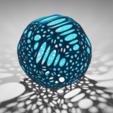Download free STL Voronoi ball, Dawani_3D