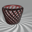 Download free 3D printer designs Wireframe vase, Dawani_3D
