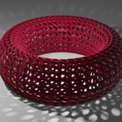 render1.png Download free STL file Voronoi bracelet • Template to 3D print, Dawani_3D