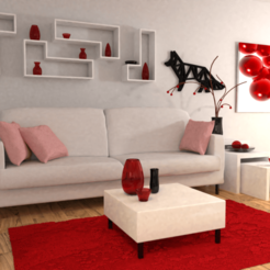 Download free 3D printing designs Fox wall decoration, Dawani_3D
