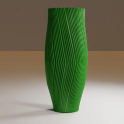 side1-min.png Télécharger fichier STL Vase spirale • Objet à imprimer en 3D, Dawani_3D