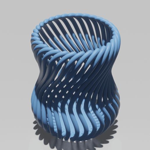 Descargar modelos 3D gratis Maceta de lápiz de diseño / Porta lápices de diseño, Dawani_3D