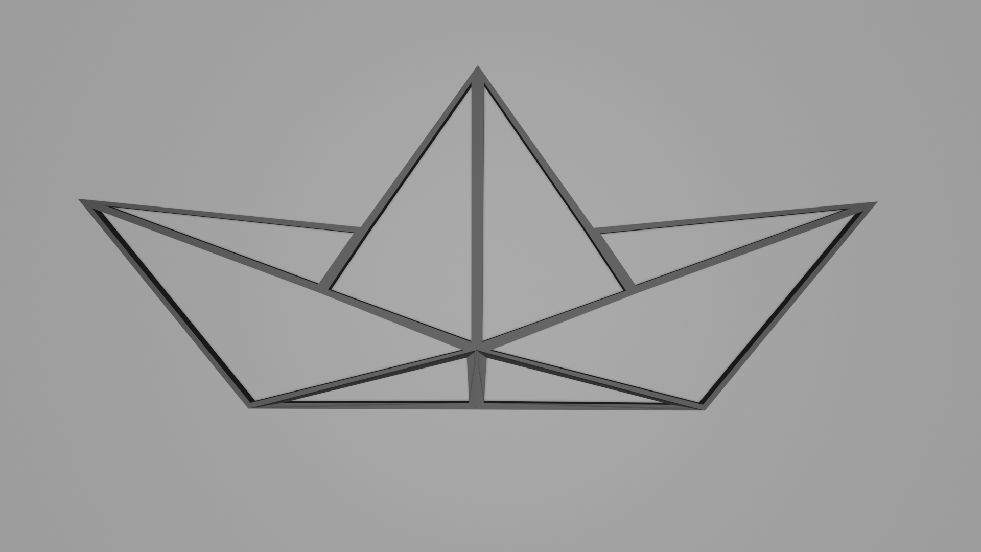 Telecharger Fichier Stl Gratuit Pendentif Bateau En Papier Objet A Imprimer En 3d Cults