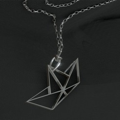 Download free 3D printer model Pendant, paper boat, Dawani_3D