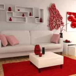 Descargar diseños 3D gratis Diseño de lupa de baja poligonal / diseño de lobo de baja poligonalidad, Dawani_3D