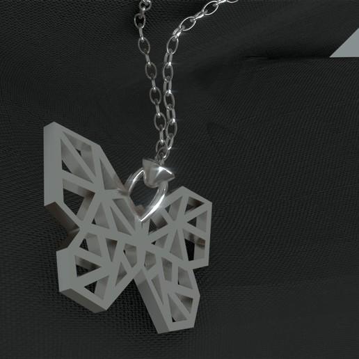 Télécharger fichier 3D gratuit Butterfly necklace / Pendentif papillon, Dawani_3D