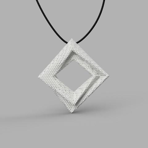 STL file Pendant v1 3D model, renza3D