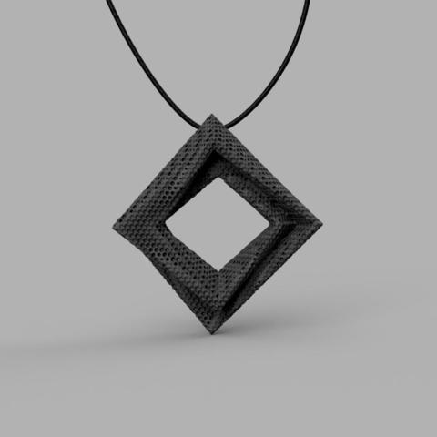 3D print grey pendant-1.jpg Download STL file Pendant v1 3D model • 3D print design, renza3D