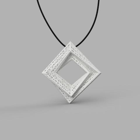 3d printer model Pendant v2 3D model, renza3D