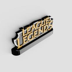 league_of_legends_logo_2020-Sep-16_04-05-42PM-000_CustomizedView4814266951.jpg Download STL file League of Legends STAND LOGO • 3D print design, Plasticbear