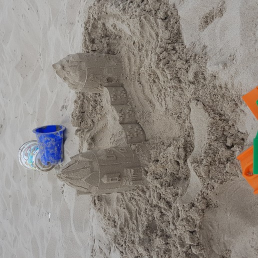 Download free 3D printing models Customizable Sand Castle Mold, agglax