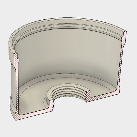 4.PNG Download STL file 7 Head Multi Cyclone Chamber v2 (Compact Size Added) • 3D printable design, kanadali