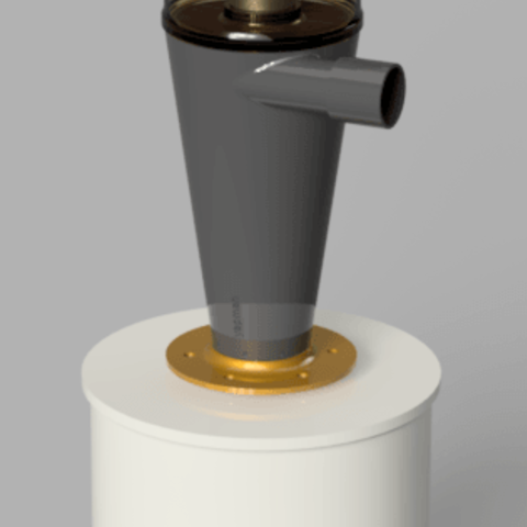 r3.png Download STL file 7 Head Multi Cyclone Chamber v2 (Compact Size Added) • 3D printable design, kanadali