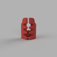 Modèle 3D Vibrateur double tête pour homme., kanadali