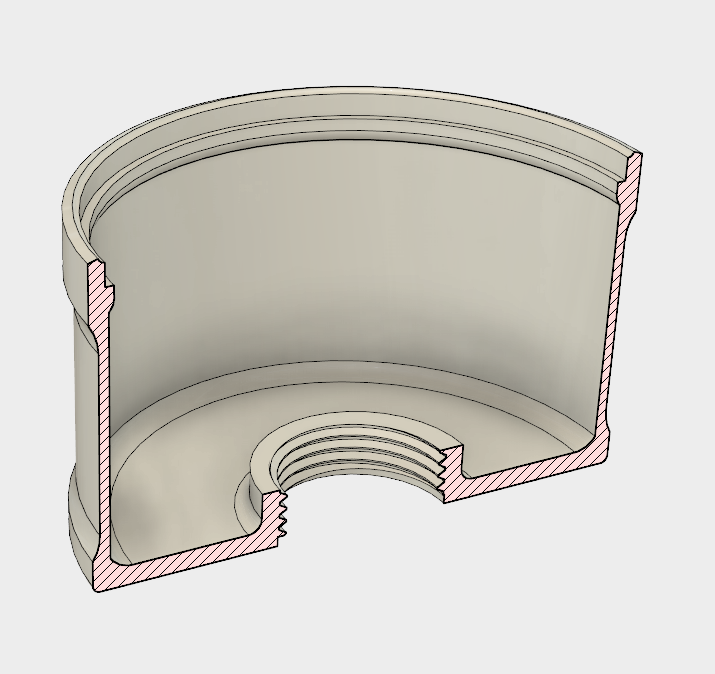 4.PNG Download STL file 26 Head Multi Cyclone Chamber (Compact Size Added) • 3D printing object, kanadali