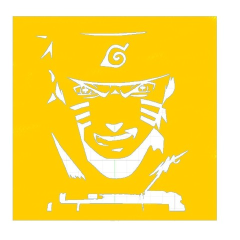 Download STL Naruto Stencil, Abdel