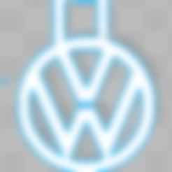 Free STL file Volkswagen Key Chain, Leo_Royer
