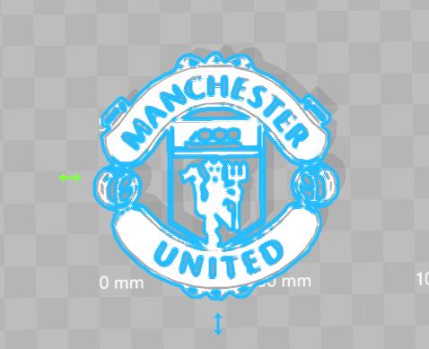 Capture logo machester united.PNG Download free STL file Manchester united Logo • 3D printable design, 3dleofactory
