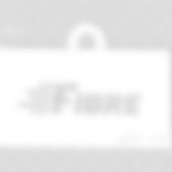 Porte Clé FIBRE SFR.stl Télécharger fichier STL gratuit Porte Clé Fibre sfr.fr • Objet imprimable en 3D, 3dleofactory