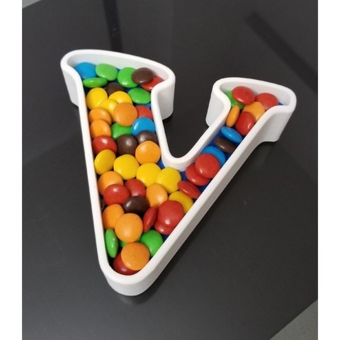 6c3b80caf3503e50ebce6ad3091fdce4_preview_featured.jpg Download STL file Letters for candy Bar / Birthday • 3D print model, MarianoP