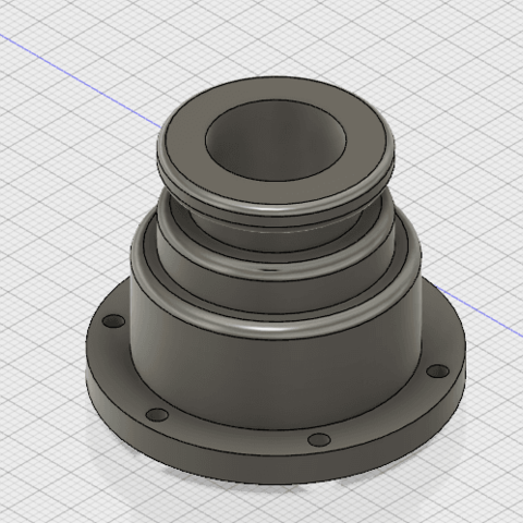 Free 3d printer designs ghostbusters leg hose connector, Oscar14