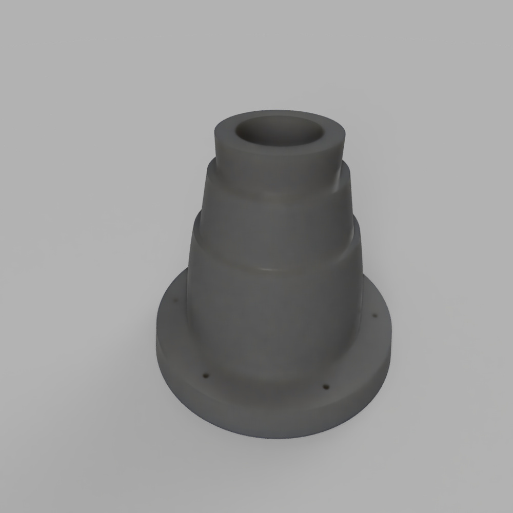 legg_connector_2020-Feb-09_12-25-43AM-000_CustomizedView58453526_jpg.jpg Download free STL file ghostbusters leg hose connector • 3D print object, Ecto_Props