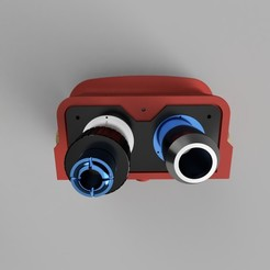 Download 3D printer model ecto goggles real ghostbusters, Ecto_Props