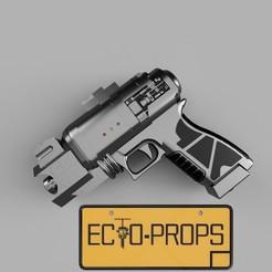 holtzmann (0).jpg Télécharger fichier STL protonpack ghostbusters 2016 holtzmann • Modèle imprimable en 3D, Ecto_Props