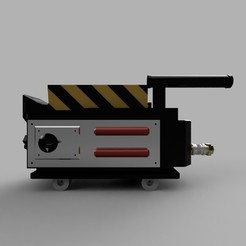 Descargar modelos 3D Ghost trap simplificada Ghostbuters 1984, Ecto_Props