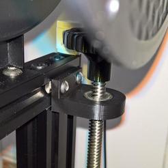 Descargar Modelos 3D para imprimir gratis Guia eje Z (Remix) Ender 3 Lead Screw Stabilizer, lamosca01