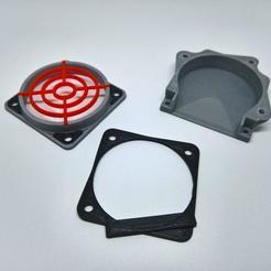 Descargar STL gratis Adaptador ventilador de capa Fan 40x40, lamosca01