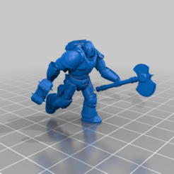 Imprimir en 3D gratis Modular Space Soldier Boy, mrhers2