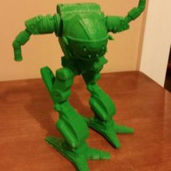 Impresiones 3D gratis MadCat Mech, mrhers2