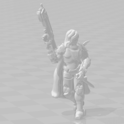 hot_pocket_delight.png Download free STL file More Space Gals • 3D print template, mrhers2
