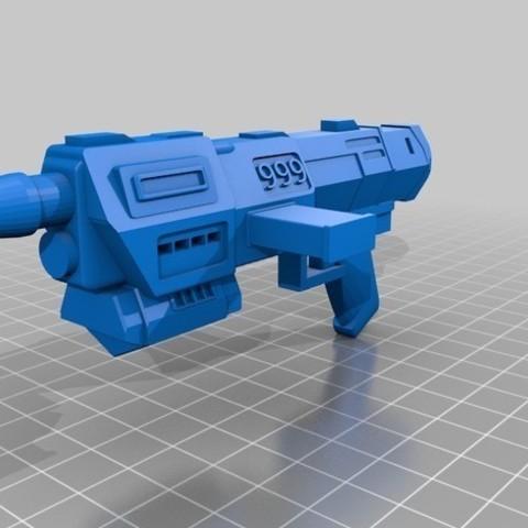 93a1ae55a91340017e3b7b72c73658e4_preview_featured.jpg Download free STL file Republic Commandos Blasters • 3D printing design, mrhers2
