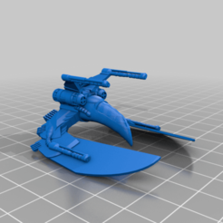 Hawk_Ship.png Download free STL file Hawk Ship • 3D printer template, mrhers2
