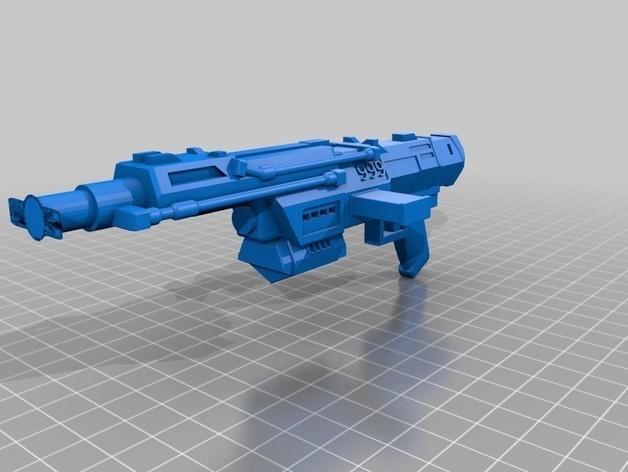 1b120942d4959c0bf19f3d6427f8b315_preview_featured.jpg Télécharger fichier STL gratuit Commandos Republic Commandos Blasters • Plan pour impression 3D, mrhers2