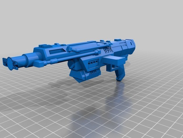 1b120942d4959c0bf19f3d6427f8b315_preview_featured.jpg Download free STL file Republic Commandos Blasters • 3D printing design, mrhers2