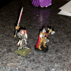 Free 3d print files DnD Knights, mrhers2