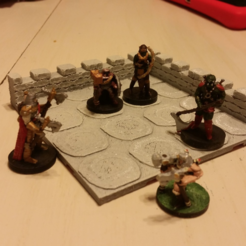 Download free 3D printing files DnD Stone Room, mrhers2