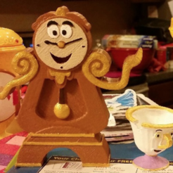 Free 3D print files Cogsworth and Friends, mrhers2