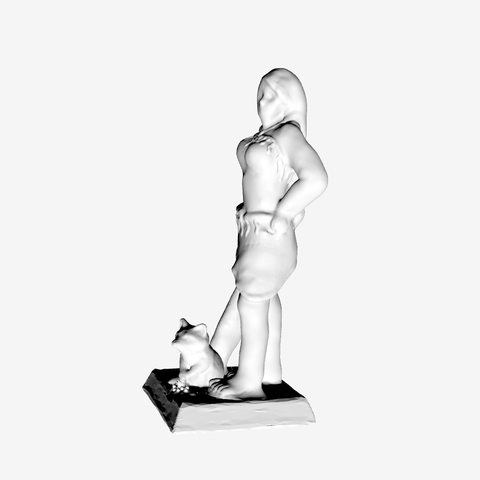 Free 3D print files Pocahontas Warrior, mrhers2