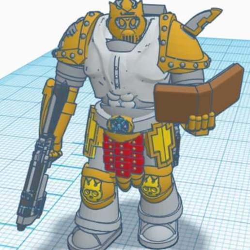 FB_IMG_1590341929558.jpg Download free STL file Space Priest • 3D print object, mrhers2
