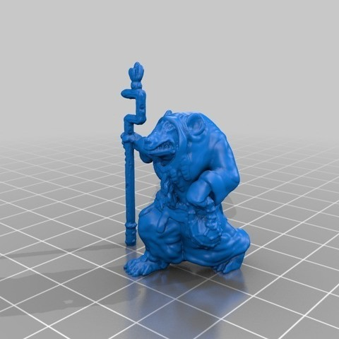 Free 3D print files Rat Priest, mrhers2