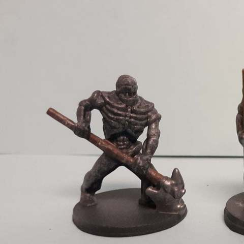 Download free 3D printer files Supportless Orc Skelly, mrhers2