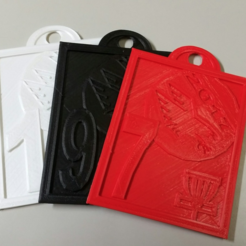 Download free 3D printer templates Disc Golf Bag Tag, mrhers2